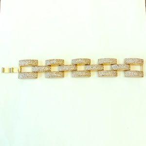 J. Crew Gold Clasp Bracelet